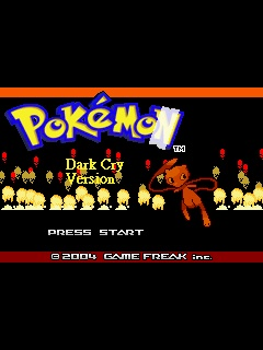 pokemon dark cry rom download gba